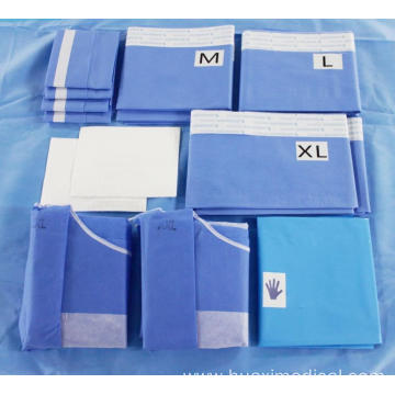 Sterile Disposable Surgical Angiography Drape Pack